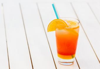 Afterglow non-alcoholic cocktail