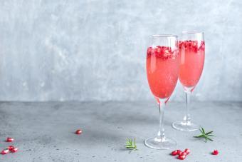 Sparkling Pomegranate drink