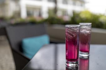 Bramble cocktails
