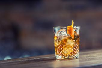 Crown apple old fashioned