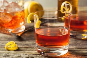Sazerapple cocktail