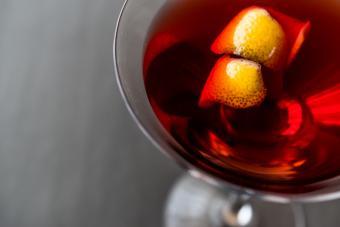 Rosso Vodka martini