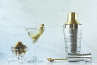 Olive Juice for Dirty Martinis
