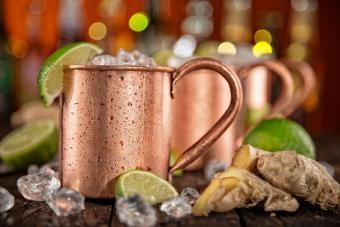 Caribbean mule cocktail