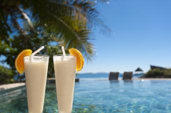 Sunny Hawaii non-alcoholic drink