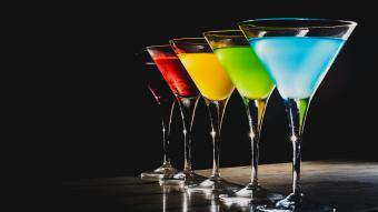 Jolly Rancher Martini Recipes