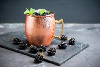 Diet blackberry mule