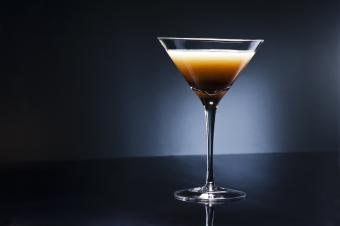 caramel Baileys chocolate martini