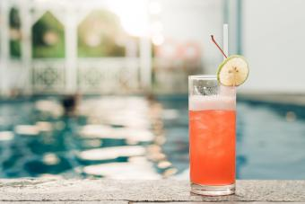 Jungle juice mixed cocktail