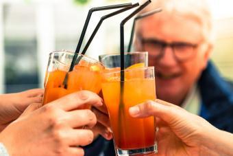 Garibaldi cocktails