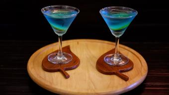 Angelo azzurro cocktail
