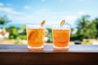 Campari Cocktail Drink