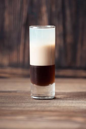 Cafe-au-lait shot