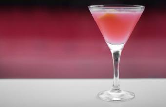 Pink Whitney martini