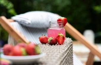 Pink whitney strawberry lemonade