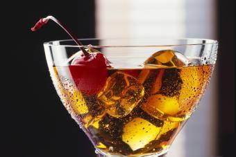 Pear Brandy and Amaretto