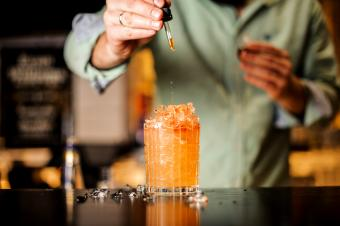Bartender adds bitter to summer cocktail