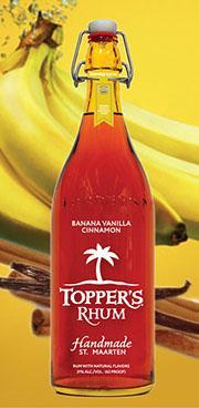 Topper's Banana Vanilla Cinnamon Rhum
