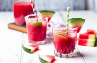 Refreshing Watermelon Drinks With Nonalcoholic Ingredients