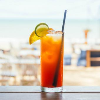 Classic Caribbean Rum Punch