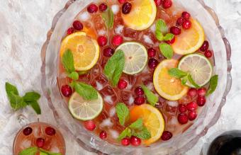Tropical Sangria Punch