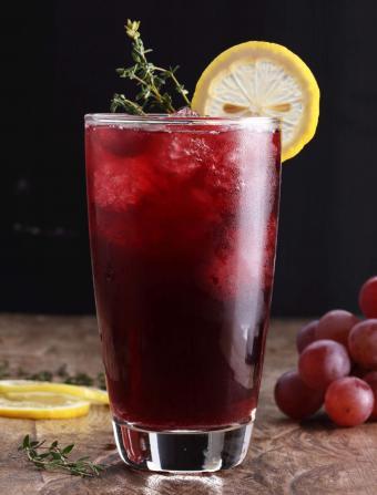 Grape Rum Punch