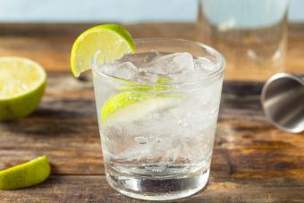 Refreshing Vodka Soda With Lime