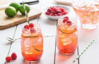 Raspberry Long Island Iced Tea