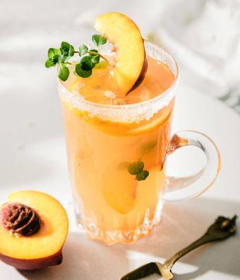 Georgie Peach Tea