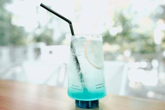 Blue Otter Pop