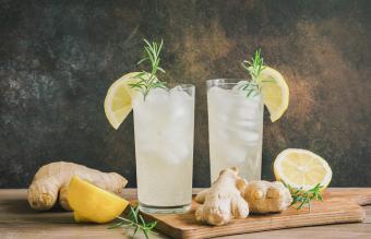 Ginger Hard Lemonade