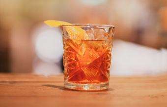 Raspberry Old Fashioned