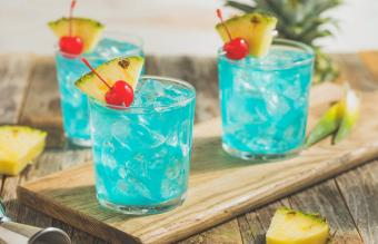 Blue Hawaii Cocktail Punch