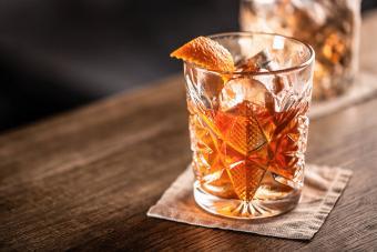 Dark Rum Old Fashioned