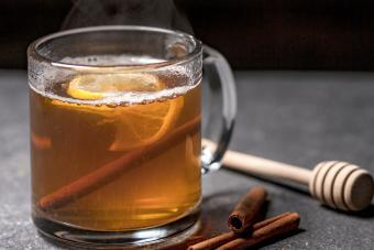 Maple Ginger Rum Hot Toddy