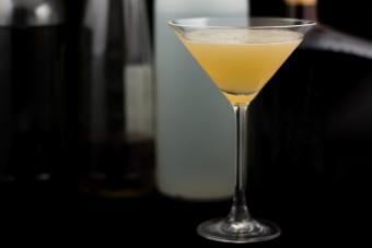 Pineapple Tommy Gun Martini
