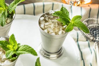 Homemade Mint Julep