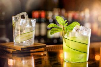 Cucumber-Mint Vodka Sour
