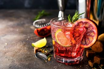 Cranberry-Rosemary Fizz