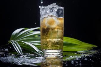 Vanilla Vodka Soda Highball
