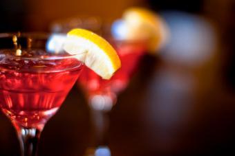 Orange-Berry Vodka Martini