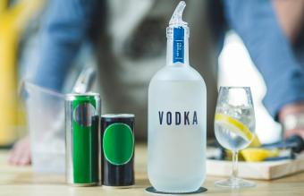 Vodka Clear With a Twist