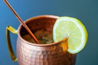 Cranberry Mule Cocktail