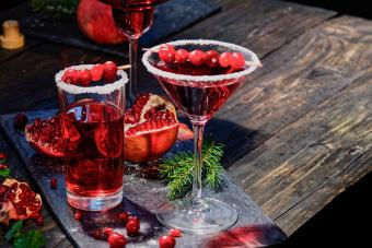 Cranberry-Pomegranate Red Hot