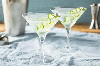 Classic Cucumber Martini Recipe + Tasteful Twists