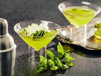 Cucumber Salad Martini