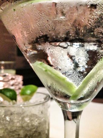Vodka Cucumber Martini