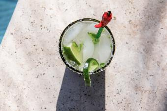 Spicy Cucumber Martini