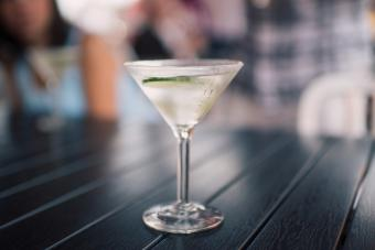 Pickle Dirty Martini
