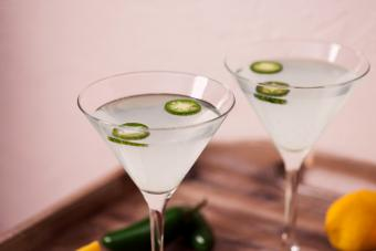 Jalapeño Dirty Martini